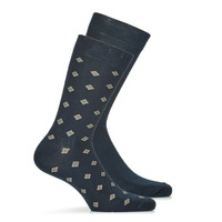 Clothes accessories Men Socks André LOSANGE Marine