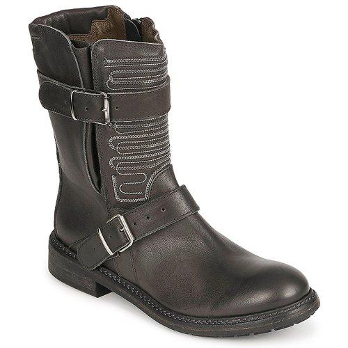 Shoes Women Mid boots Fru.it ARLINE Black