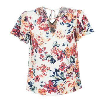 Clothing Women Tops / Blouses Casual Attitude LAURIANA White / Multicoloured