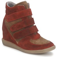Shoes Women Hi top trainers Meline IMTEK BIS Brown / Red