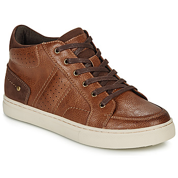 Shoes Boy Hi top trainers André FABOU Brown