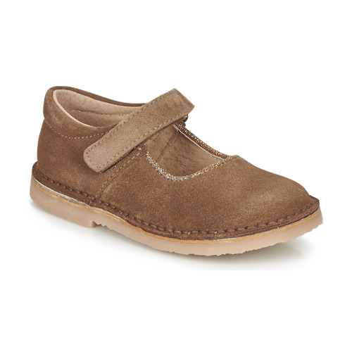 Shoes Girl Flat shoes André LAURIANNE Brown