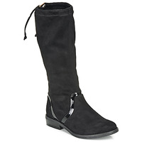 Shoes Girl High boots André ALEXINE Black