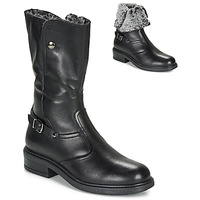 Shoes Girl High boots André MOSCOU Black