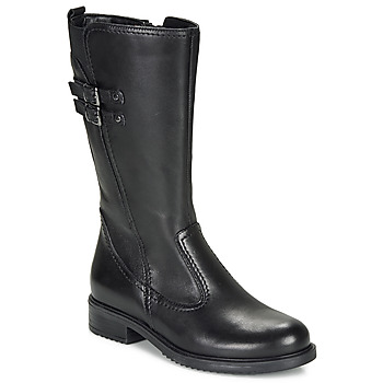 Shoes Girl High boots André APOLLINE Black