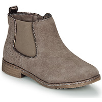 Shoes Girl Mid boots André CIARA Beige