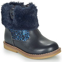 Shoes Girl Mid boots André ADELA Marine