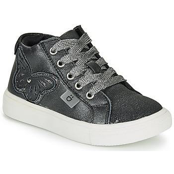 Shoes Girl Hi top trainers André MARIPOSA Grey
