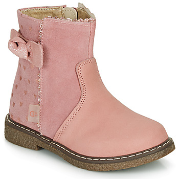 Shoes Girl Mid boots André MYA Pink