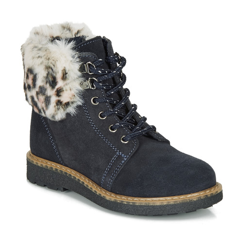 Shoes Girl Mid boots André CHATAL Marine