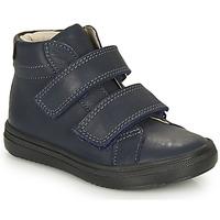 Shoes Boy Hi top trainers André EDGAR Marine