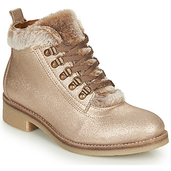 Shoes Women Mid boots André BRISE Beige