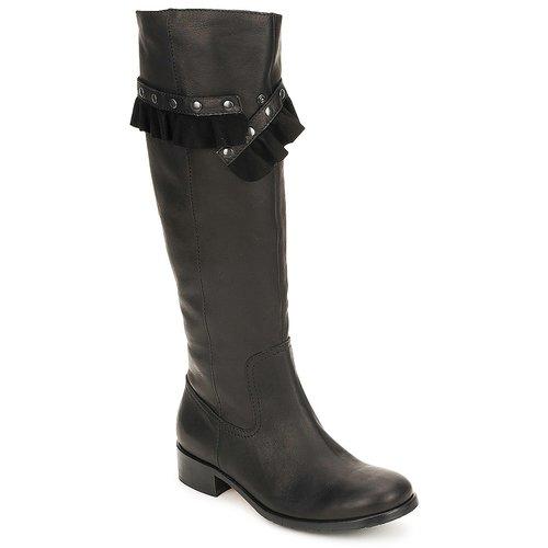 Shoes Women High boots Moschino Cheap & CHIC CA2601 Black