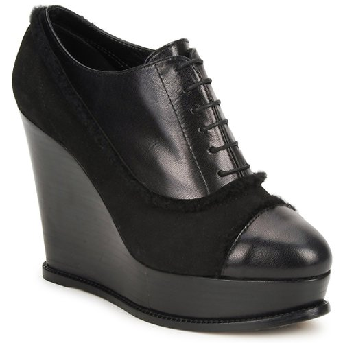 Shoes Women Shoe boots Moschino Cheap & CHIC CA1014 Black