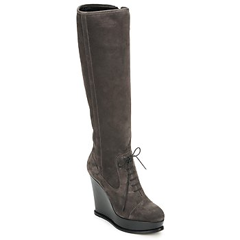 Shoes Women High boots Moschino Cheap & CHIC CA2603 Taupe