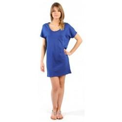Clothing Women Short Dresses American Vintage ROBE CI88E11 INDIGO Blue