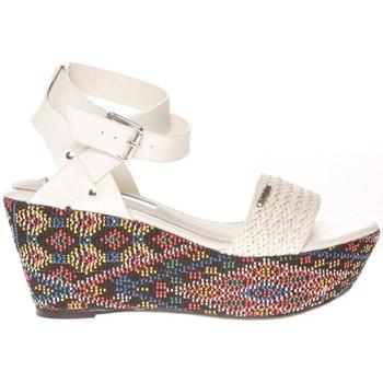 Shoes Women Sandals Cassis Côte d'Azur Sandales Amalia Blanc White