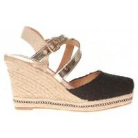 Shoes Women Espadrilles Cassis Côte d'Azur Sandales Robinson Noir Black