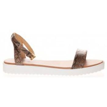 Shoes Women Sandals Cassis Côte d'Azur Sandales Gasteria Camel Brown