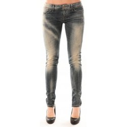 Clothing Women slim jeans Meltin'pot Jean D1480/BD398 Bleu délavé Blue