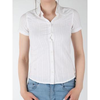Clothing Women Shirts Wrangler Sammy W5021CA12 white