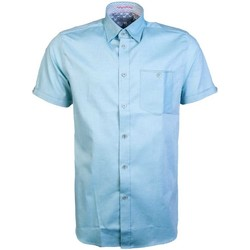 Clothing Men Short-sleeved shirts Ted Baker MMAWALLABITH9M_turquoisegreen green