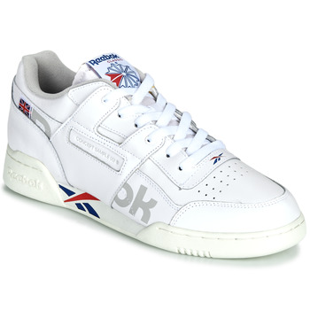 Shoes Low top trainers Reebok Classic WORKOUT PLUS MU White / Blue / Red