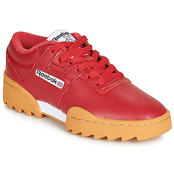 Shoes Low top trainers Reebok Classic WORKOUT RIPPLE OG Red / White