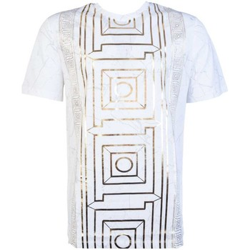 Clothing Men short-sleeved t-shirts Versace T Shirt V800683R VJ00599 white