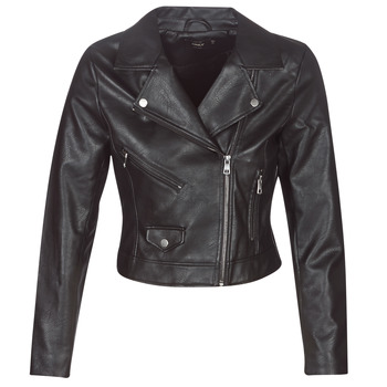 Clothing Women Leather jackets / Imitation leather Only ONLENYA Black
