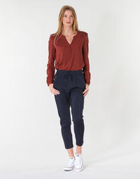 Clothing Women Chinos Only ONLPOPTRASH Marine
