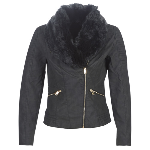 Clothing Women Leather jackets / Imitation leather Only ONLCLASSY Black