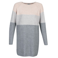 Clothing Women Short Dresses Only ONLLILLO Grey / Pink