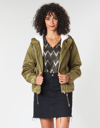 Clothing Women Jackets Only ONLNEWCALLY Kaki