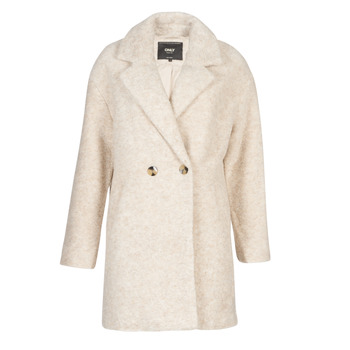 Clothing Women coats Only ONLNINA Beige