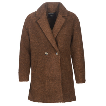Clothing Women coats Only ONLNINA Brown