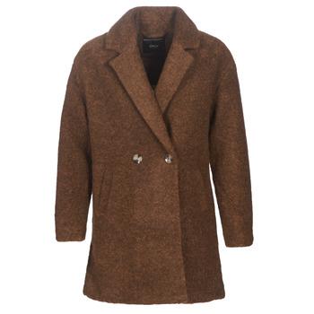 Clothing Women Coats Only ONLNINA Brown