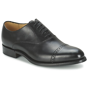Shoes Men Brogues Barker BURFORD Black