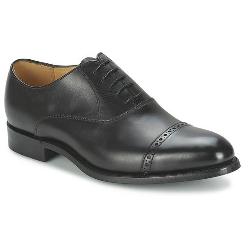 Shoes Men Brogues Barker BURFORD Black