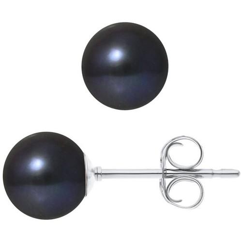 Watches & Jewellery  Women Earrings Blue Pearls BPS K301 W  OB Multicolored