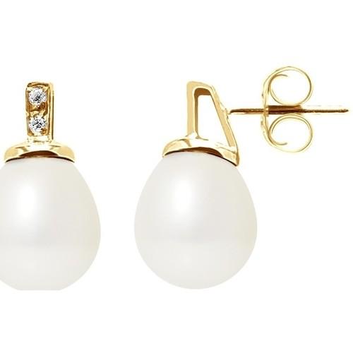 Watches Women Earrings Blue Pearls BPS K604 W Multicolored