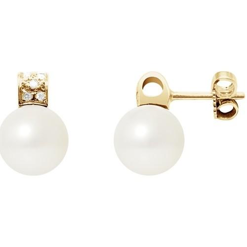 Watches & Jewellery  Women Earrings Blue Pearls BPS K603 W Multicolored