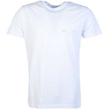 Clothing Men short-sleeved t-shirts Versace T Shirt B3GTB76R 36610 white