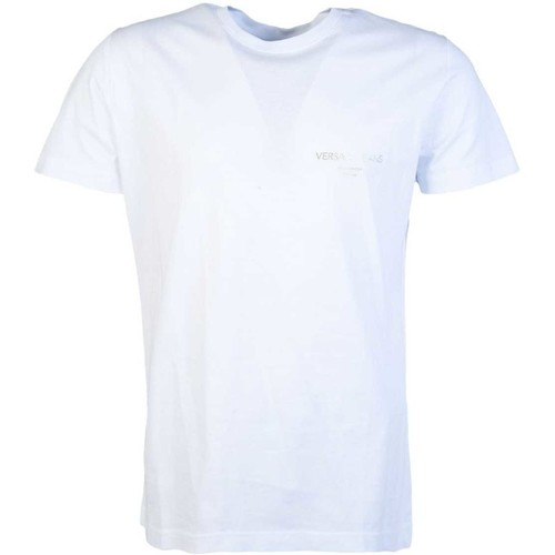 Clothing Men Short-sleeved t-shirts Versace Jeans Couture B3GTB76R36610_130white white
