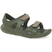 Shoes Boy Sandals Crocs Swiftwater Boys Water Friendly Sandals green