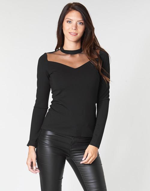 Clothing Women Tops / Blouses Moony Mood LAMELI Black