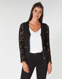 Clothing Women Jackets / Blazers Moony Mood LAKA Black