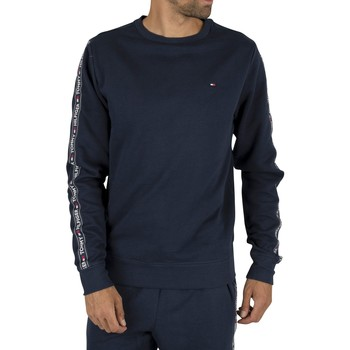 Clothing Men sweaters Tommy Hilfiger Men's Track Sweatshirt, Blue blue