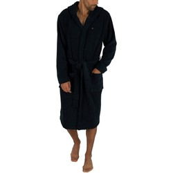 Clothing Men Sleepsuits Tommy Hilfiger Icon Bathrobe blue