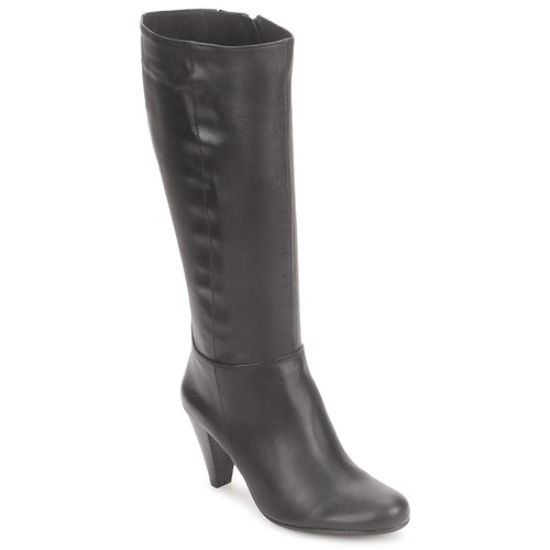 Shoes Women High boots So Size ARDEIN Leather-Black